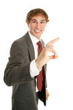 Young Businessman A-okay Royalty Free Stock Photos