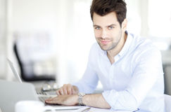 Young businessman portait Stock Image