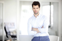 Young businessman portait Royalty Free Stock Image