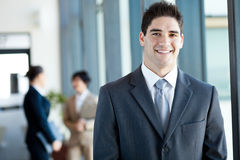 Young businessman portrait Stock Photography
