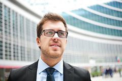 Young businessman portrait Royalty Free Stock Photography