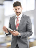 Young businessman portrait Stock Photography