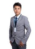 Young businessman portrait Stock Images