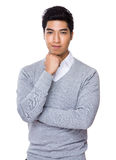 Young businessman portrait Royalty Free Stock Image