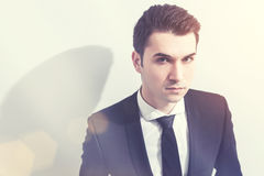 Young businessman portrait Royalty Free Stock Images