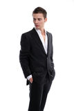 Young Businessman posing Stock Photography