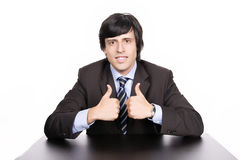 Young Businessman posing Royalty Free Stock Image