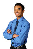 Young Businessman Smiling Royalty Free Stock Photo