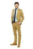 Young businessman standing Stock Photos