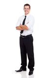 Young businessman standing Stock Photos