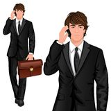 Young businessman standing Royalty Free Stock Photo