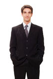 Young businessman in suit Royalty Free Stock Photo