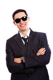 Young businessman in sunglasses Royalty Free Stock Images