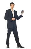 Young businessman using a Tablet computer Stock Photo