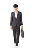 Young businessman walk Stock Photo