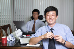 Young businessmen Royalty Free Stock Photo