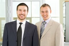 Young businessmen Royalty Free Stock Image