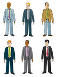 Young Businessmen Stock Images