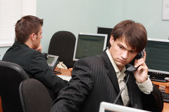 Young businessmen in office Royalty Free Stock Photography