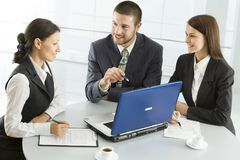 Young businesspeople Stock Image