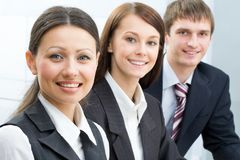Young businesspeople Stock Photos