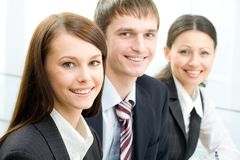 Young businesspeople Royalty Free Stock Image