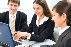 Young businesspeople Stock Images