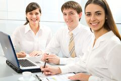 Young businesspeople Royalty Free Stock Photos