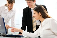 Young businesspeople Royalty Free Stock Images