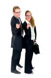 Young businesspeople Royalty Free Stock Photography