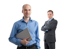 Young businesspeople smiling Royalty Free Stock Image