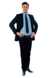 Young businessperson posing Stock Images