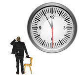 Beat the clock Stock Images