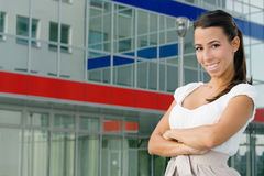 Young businesswoman Stock Photography
