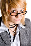 Young businesswoman Stock Photos