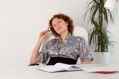 Young businesswoman. Royalty Free Stock Image