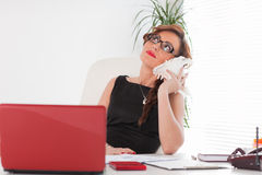 Young businesswoman. Stock Images