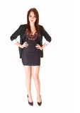 Young businesswoman. Royalty Free Stock Images