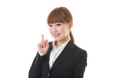Young businesswoman. To recommend it to Stock Photography
