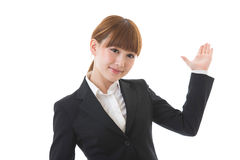 Young businesswoman. To recommend it to Royalty Free Stock Photos