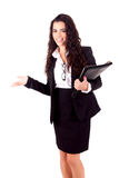 Young businesswoman Stock Photos