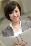 Young businesswoman of Asian Royalty Free Stock Images
