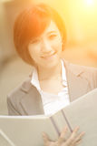 Young businesswoman of Asian Stock Image