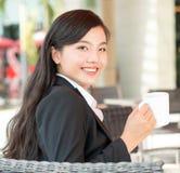 Pretty businesswoman Royalty Free Stock Photos