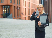 Young businesswoman. Stock Photography