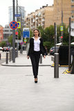 Young  businesswoman going to work Royalty Free Stock Photography