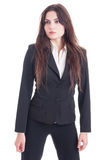 Young businesswoman looking away Royalty Free Stock Photos