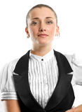 Young businesswoman looking on camera Royalty Free Stock Image