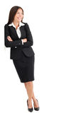Young Businesswoman Looking Sideways Stock Photography