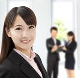 Young businesswoman in office Royalty Free Stock Photography